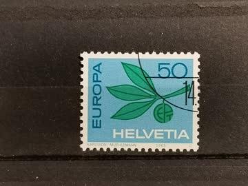 1965 Europamarke ET Stempel