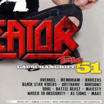 Rock Hard - Lauschangriff Vol. 051 (Heftbeilage 2/17)