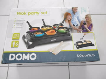 Wok-Party-Set
