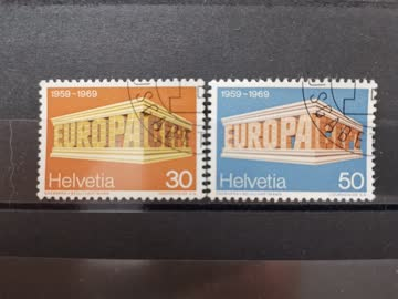 1969 Europamarken ET Stempel