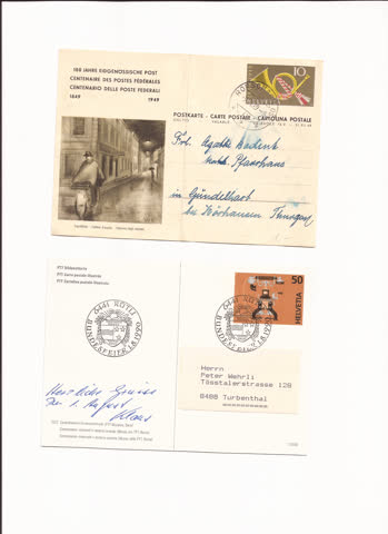 2 postkarten n35