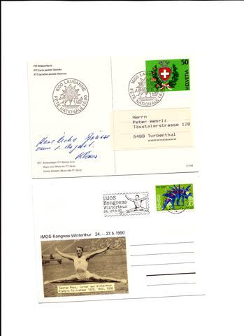2 postkarten n34