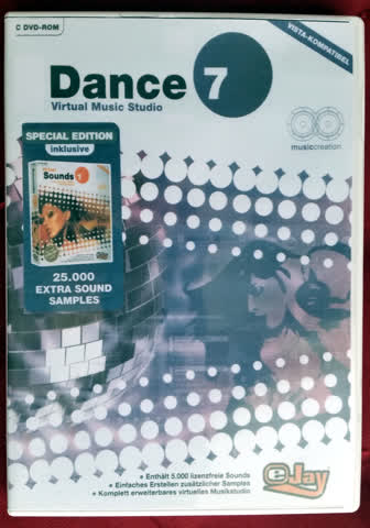 Virtual Music Studio EJAY Dance 7 mit 25'000 Sounds Extra