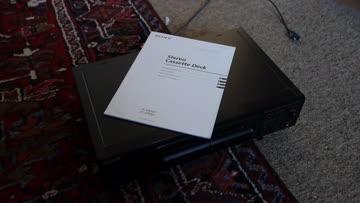 SONY Stereo Doppelkassettenabspielgerät