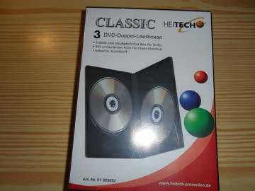 3 DVD-CD Doppel-Leerbox