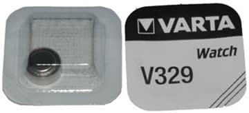 Knopfzelle UhrenBatterie v329 VARTA 1,55V SR731SW 329 Swatch