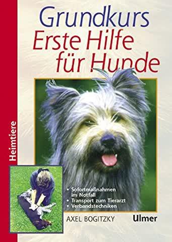 Grundkurs Erste Hilfe für den Hund: Sofortmaßnahmen im Notfall. Bergen, Lagern, Verbinden. Die Notfälle von A bis Z