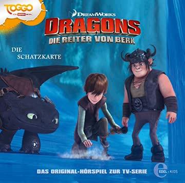 Dragons - Die Reiter von Berk (4)-Die Schatzkarte