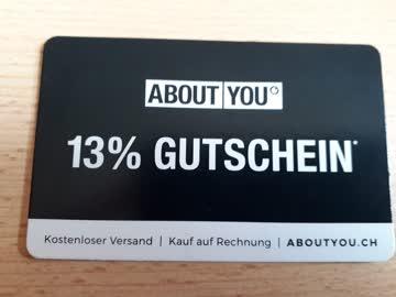 13% Gutschein ABOUT YOU