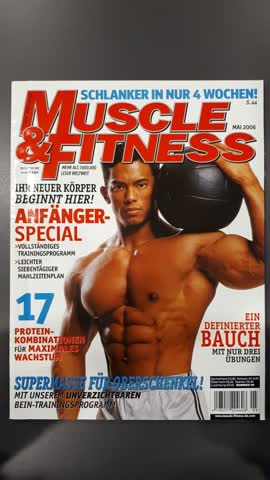 Muscle & Fitness - MAI 2006