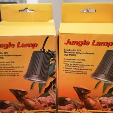 2 Jungle Lamp Reflektorleuchten