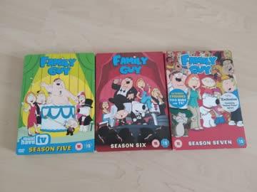 Family Guy Season 5, 6, 7 (UK-Version)