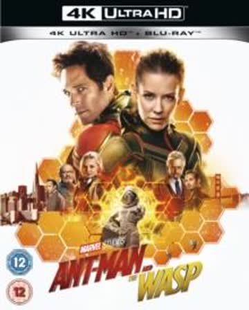 Ant-Man And The Wasp [4K Ultra HD + Blu-ray]
