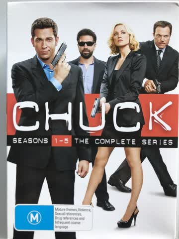 Chuck Season 1-5 The Complete Series