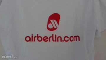 airberlin T-Shirt Damen XL (Herren M) 9