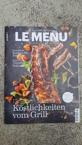 Le menu Nr.6 Juni 2018