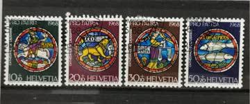 1968 Pro Patria ET - Stempel