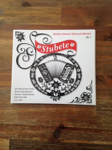 CD , Stubete - Beliebte Schweizer Volksmusik -Melodien Vol,1