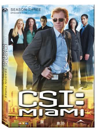 CSI: Miami - Season 3.1 (3 DVDs)