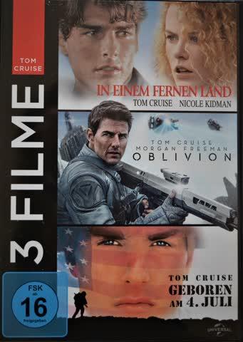 Tom Cruise - 3 Filme