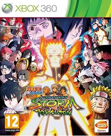 Naruto Ult.Ninja Storm Rev. XB360 AT Rivals Edition
