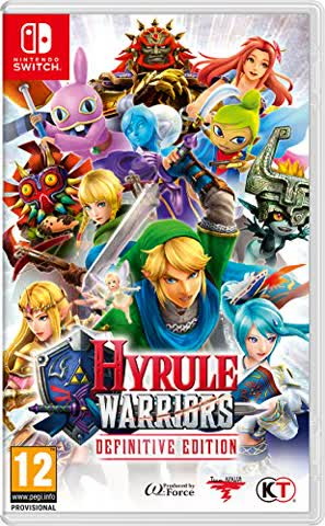 Hyrule Warriors Switch UK Definitive Edition