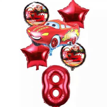 Folienballone Set 6 Stück