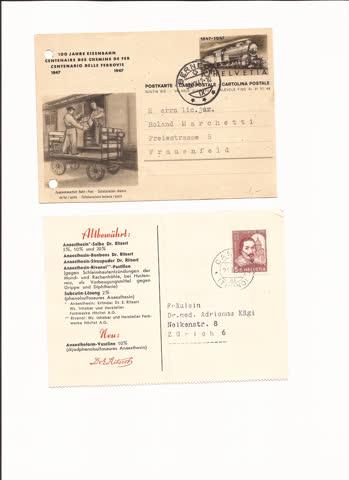 2 postkarten n31