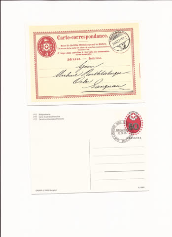 2 postkarten n20