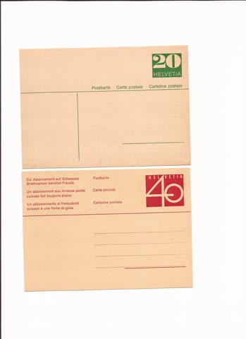 2 postkarten n25