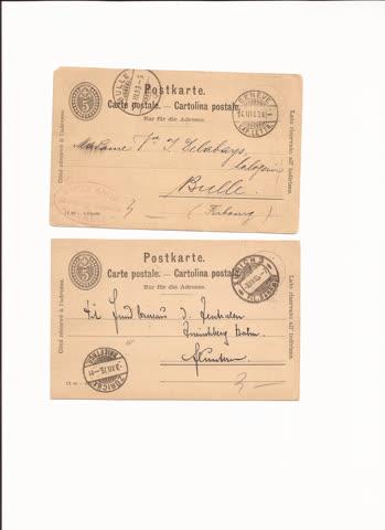 2 postkarten n7