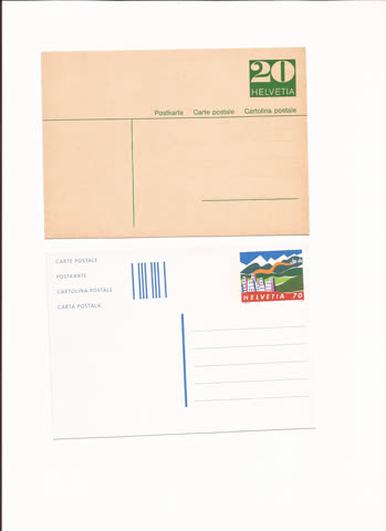 2 postkarten n22