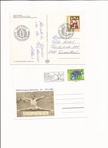 2 postkarten n33