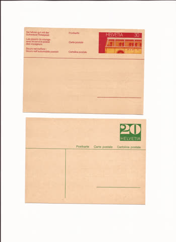 2 postkarten n26
