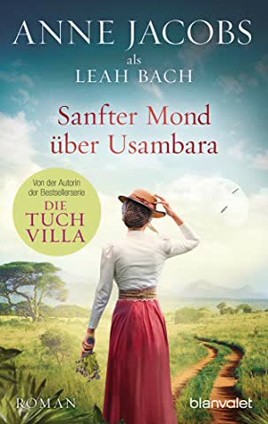 Sanfter Mond über Usambara: Roman (Die Afrika-Saga, Band 2)