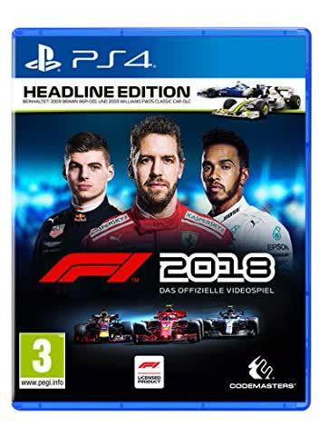 F1 2018 Headline Edition [Playstation 4] [PEGI-AT]