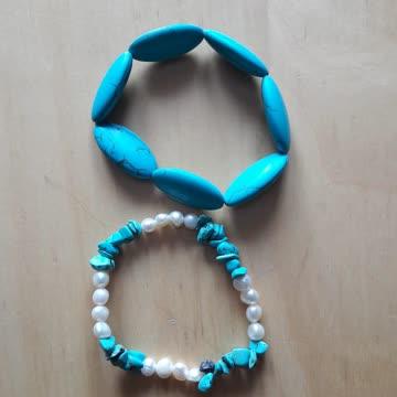 2 wunderschönen Armbänder