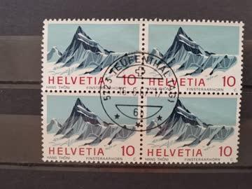 1966 Viererblock Helvetia