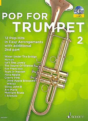 Pop for Trumpet 2 Band 2 +CD