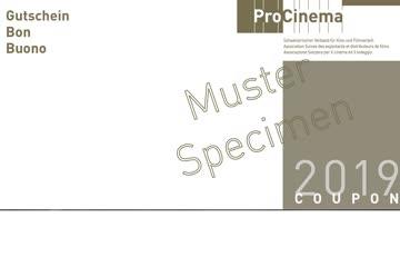 5 Kinogutscheine, gültig ganze Schweiz!