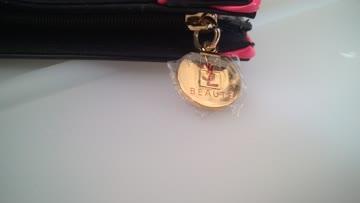 Yves Saint Laurent Glanz Lack Pouch Kosmetiktasche ClutchYSL