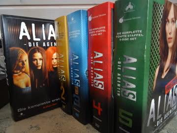 Alias / Die Agentin / komplette Serie Deutsch