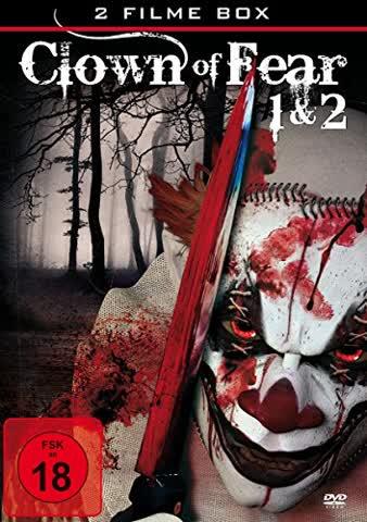 RITCHKOFF,JENNIFER/TAYLOR,MICHAEL/CLANCY,GARRETT/+ - CLOWN OF FEAR 1 & 2 (2 FILME) (1 DVD)