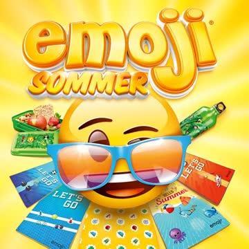 Emoji Sommer Coop 24 Märkli Marken Kleber Stickers