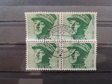1969 Viererblock Helvetia