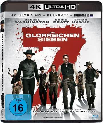 Die glorreichen Sieben (4K Ultra HD) [Blu-ray]