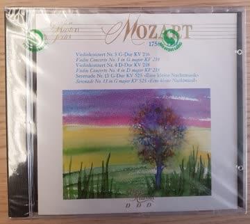 Mozart - Violinkonzert Nr. 3+4, eine kleine Nachtmusik