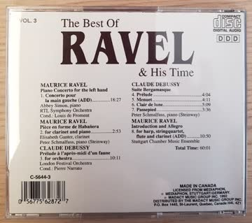 The Best of Ravel und His Time
