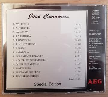 José Carreras - Special Edition