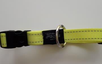Rogz Utility Halsband Gelb